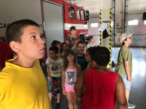 PO1 a přípravná třída u hasičů 2018