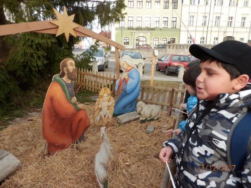Vánoční pochod 2.A, 4.B